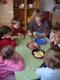 Eier gekocht und anders