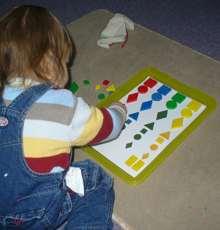 Formen, G��en und Farben unterscheiden