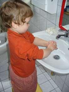 H�nde selbst waschen
